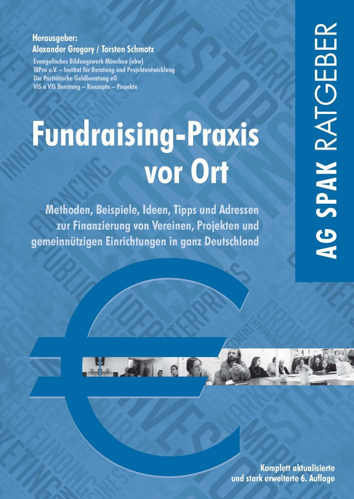 Fundraising Praxis vor Ort Titelbild Handbuch Fachbuch